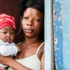 Haitian Mom and Child