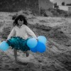 Blue Balloon Girl